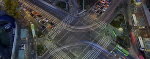 Transportion Signalized Intersection Mass Transit Pedestrians